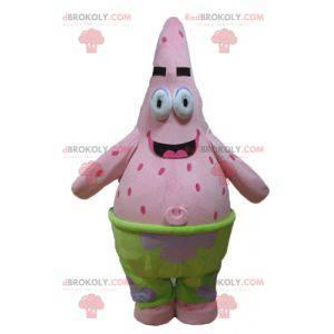 Mascot Patrick beroemde roze zeester uit SpongeBob SquarePants