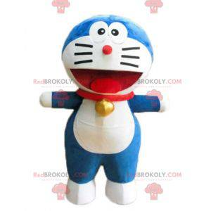 Doraemon maskot slavný manga modrá kočka - Redbrokoly.com