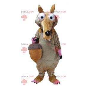 Famous Ice Age Squirrel Scrat Mascot - Redbrokoly.com
