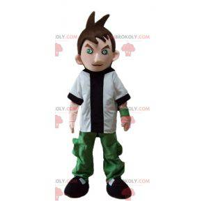 Cartoon young teen boy mascot - Redbrokoly.com