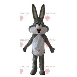 Mascota de Bugs Bunny famoso conejo gris Looney Tunes -