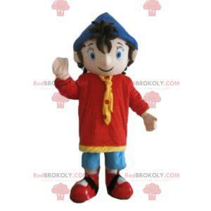 Noddy slavný kreslený charakter maskot - Redbrokoly.com