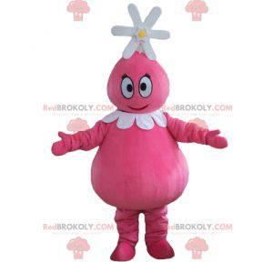 Barbabelle Maskottchen berühmte rosa Charakter von Barbapapa -