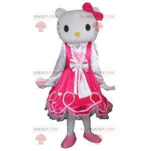 Hello Kitty maskot slavná karikatura bílá kočka - Redbrokoly.com