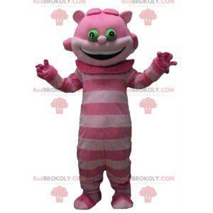 Maskot Alfa v říši divů Chafouin Pink Cat - Redbrokoly.com