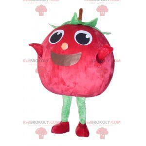 Obří červený a zelený jahodový třešňový maskot - Redbrokoly.com