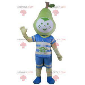 Chłopiec maskotka z głową w kształcie gruszki - Redbrokoly.com