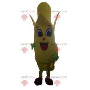 Riesiges gelbes Bananenmaskottchen - Redbrokoly.com