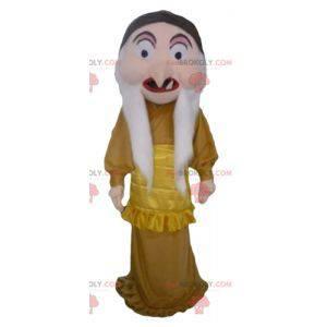 Mascotte della regina strega personaggio Biancaneve -