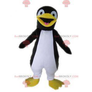 Maskotka gigant czarno-biały pingwin - Redbrokoly.com