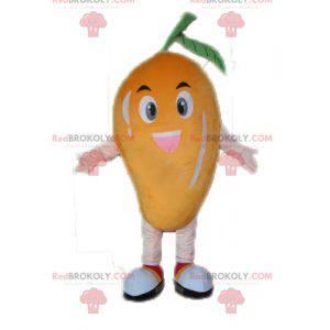 Kjempemango maskot. Fruktmaskott - Redbrokoly.com