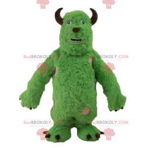 La mascota Sully alien de Monsters Inc. - Redbrokoly.com