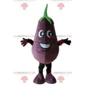 Mascot giant eggplant. Vegetable mascot - Redbrokoly.com