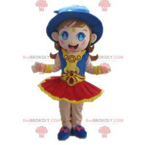 Trollkarlsmaskot. Wizard maskot - Redbrokoly.com