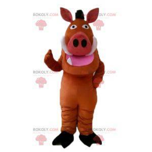 Mascot beroemde Pumba wrattenzwijn in The Lion King -