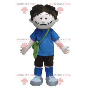Student school boy mascot - Redbrokoly.com