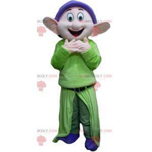 Mascot Dopey famous dwarf Snow White - Redbrokoly.com