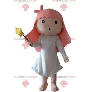 Magician fairy little girl mascot - Redbrokoly.com