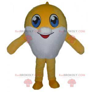 Bardzo urocza maskotka duża żółto-biała ryba - Redbrokoly.com