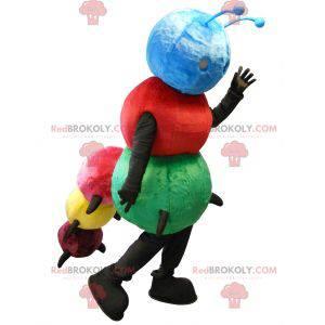 Wielobarwna maskotka gąsienica - Redbrokoly.com