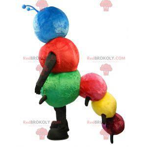 Vícebarevný maskot housenka - Redbrokoly.com