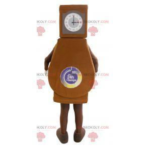 Giant grandfather clock mascot - Redbrokoly.com