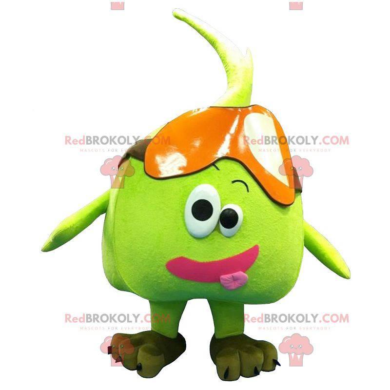 Gigantyczna zielona gruszka jabłko maskotka - Redbrokoly.com