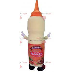 Mascot large pot of sauce for snack - Redbrokoly.com