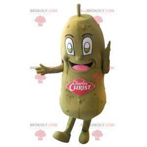 Stor gigantisk grønn pickle maskot - Redbrokoly.com