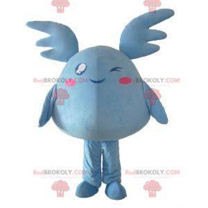 Blue giant plush Pokémon mascot - Redbrokoly.com