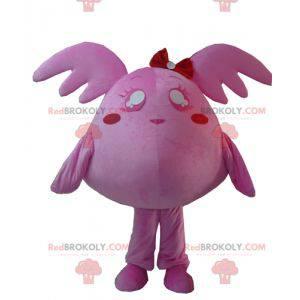 Růžový obří plyšový maskot Pokémonů - Redbrokoly.com