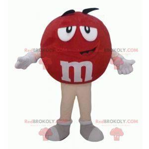 M & Ms Maskottchen rot riesig prall und lustig - Redbrokoly.com