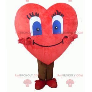 Gigantyczna i urocza maskotka czerwone serce - Redbrokoly.com
