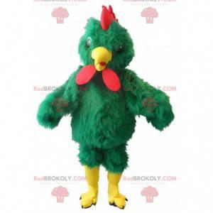 gigantisk grønn hane maskot - Redbrokoly.com