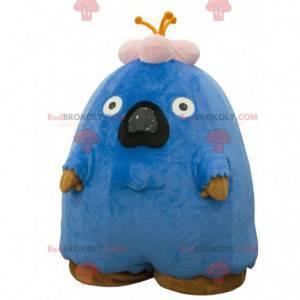 Mascot big blue and pink monster blank - Redbrokoly.com