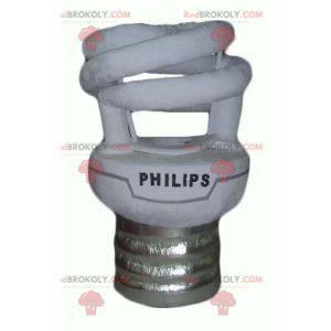 Philips giant white and gray bulb mascot - Redbrokoly.com