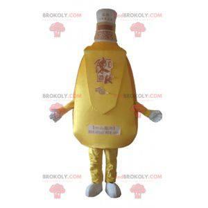 Gigantisk brennevin vinflaske maskot - Redbrokoly.com