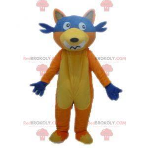 Maskot Chipeur fox v Dora průzkumník - Redbrokoly.com