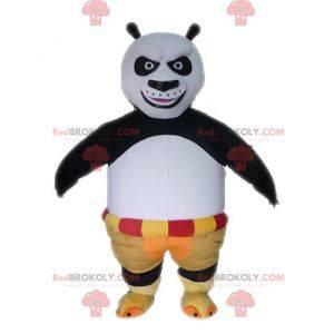 Po famous panda mascot from the cartoon Kung Fu Panda -