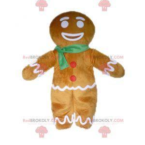 Mascot Ti Biscuit beroemd personage in Shrek - Redbrokoly.com