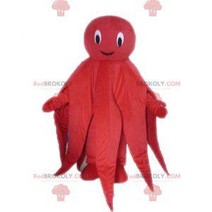Giant red octopus octopus mascot - Redbrokoly.com