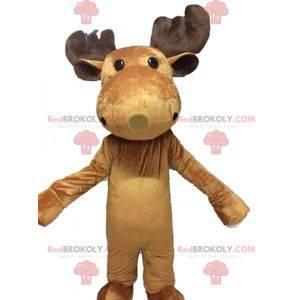 Caribou elk mascot. Giant reindeer mascot - Redbrokoly.com