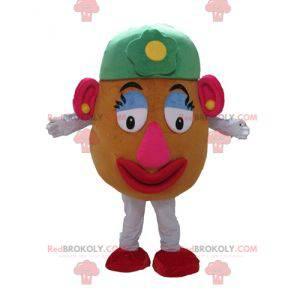 Mascote Madame Potato personagem famosa em Toy Story -
