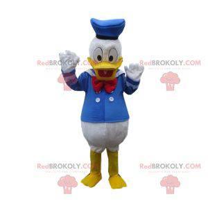 Maskot Donald se svým slavným kostýmem námořníka -
