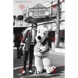 Snoopy beroemde witte hond mascotte van BD - Redbrokoly.com