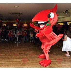 Stor rød fuglemaskott - Redbrokoly.com