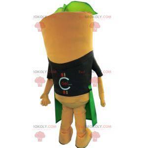 Gigantyczna marchewkowa maskotka z fartuchem - Redbrokoly.com