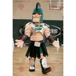 Roman gladiator knight mascot - Redbrokoly.com