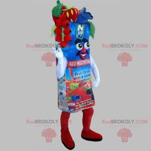 Gigantisk fruktjuic murstein maskot - Redbrokoly.com