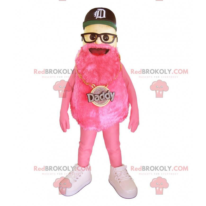 Bärtiges Maskottchen der berühmten Marke Daddy - Redbrokoly.com